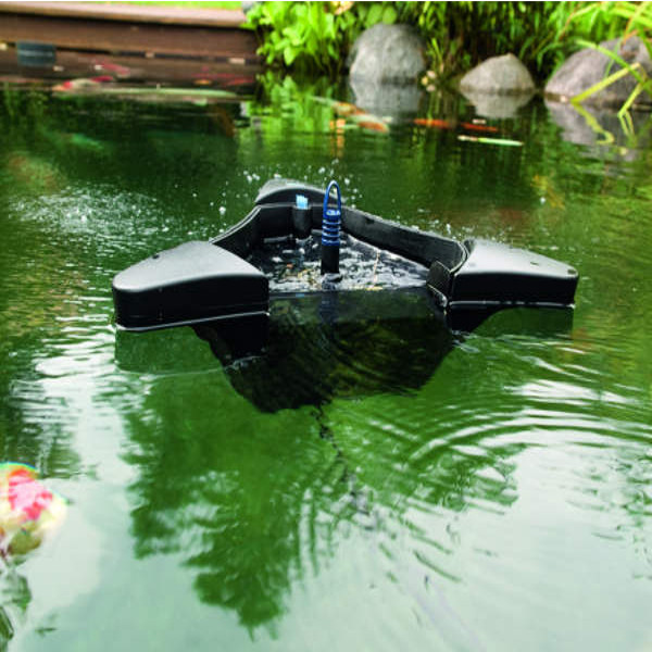 what is a pond skimmer
